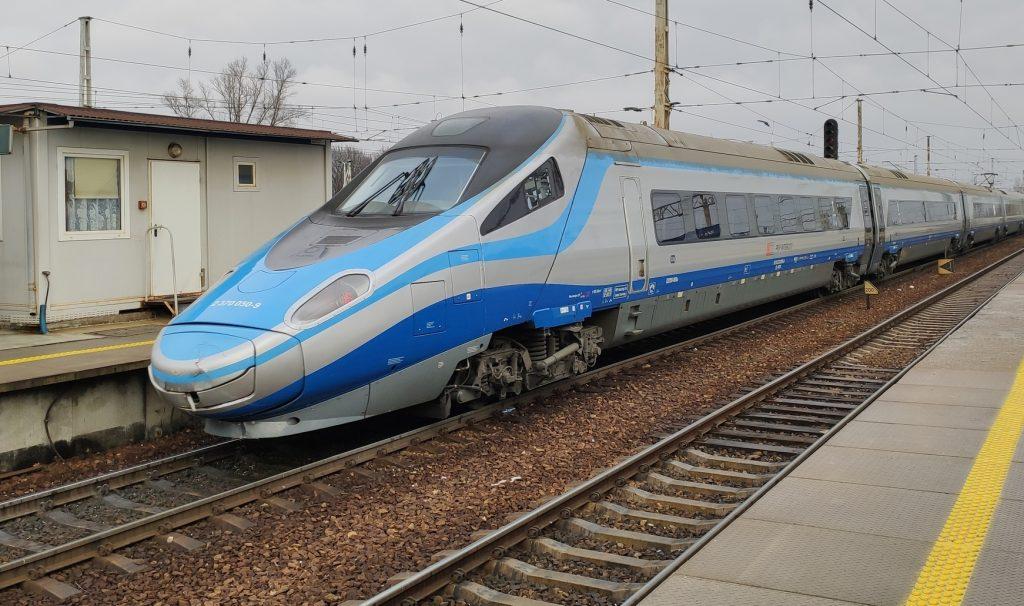 Intercity Premium train in Poland