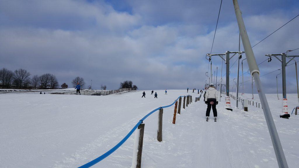 Ski resort near Gdansk in Poland