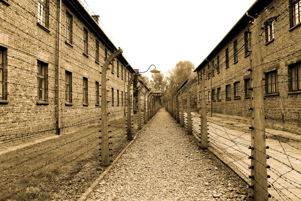 Auschwitz camp museum